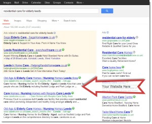 the results of a search engine optimization expert